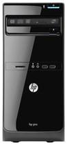 HP - Pro 3500 Desktop - Intel Core i3 - 2GB Memory - 500GB Hard Drive - Black