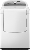 Whirlpool - Clearance Cabrio 7.6 Cu. Ft. 9-cycle Gas Dryer - White