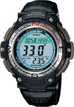 Casio - Men's Digital Compass Twin Sensor Sport Watch - Green