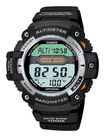 Casio - Men's Twin Sensor Multifunction Digital Sport Watch - Black