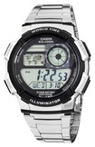 Casio - Men's Digital Sport Watch - Stainless-Steel