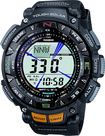 Casio - Men's Pathfinder Triple Sensor Multifunction Sport Watch - Black