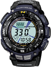 Casio - Men's Pathfinder Triple Sensor Multifunction Sport Watch - Blue
