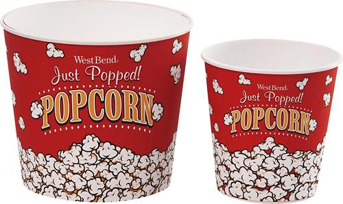 West Bend - Medium Popcorn Bucket - Red