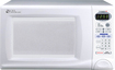 Daewoo - Touch Control 0.9 Cu. Ft. Compact Microwave - White