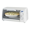 Black & Decker - Toast-R-Oven Classic 4-Slice Toaster Oven - White