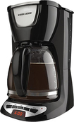 Black & Decker - 12-cup Programmable Coffeemaker - Black 3112942