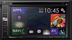 "Pioneer - 6.1"" - Built-In GPS - Built-In Bluetooth - Apple® iPod®-Ready - In-Dash Receiver - Black/Blue"