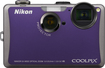 Nikon - Coolpix 14.1 Megapixel Compact Camera - Purple