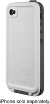 LifeProof - Case for Apple® iPhone® 4 and 4S - White