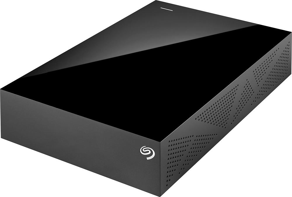 Seagate - Backup Plus 3TB External USB 3.0/2.0 Hard Drive - Black