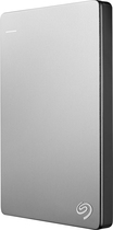 Seagate - Backup Plus Slim for Mac 1TB External USB 3.0/2.0 Portable Hard Drive - Silver/Black