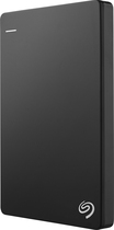 Seagate - Backup Plus Slim 1TB External USB 3.0/2.0 Portable Hard Drive - Black