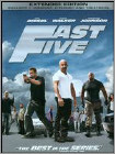 Fast Five (DVD) (Extended Edition) (Unrated) (Enhanced Widescreen for 16x9 TV) (Eng/Fre/Spa) 2011