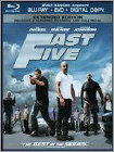 Fast Five (Blu-ray Disc) (2 Disc) (Unrated) 2011