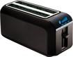 T-Fal - 2-Slice Long-Slot Digital Toaster - Black