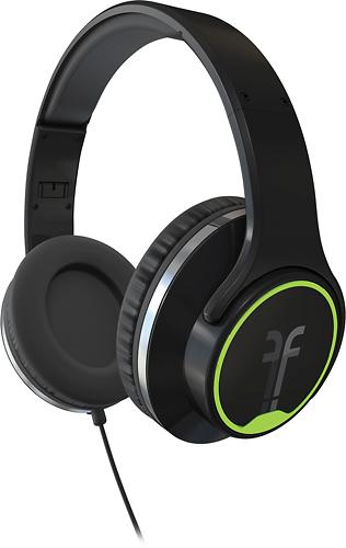 Flips Audio - Over-the-Ear Headphones - Black