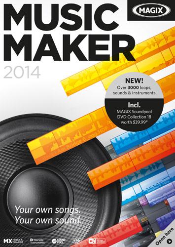Music Maker 2014 - Windows