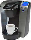 Keurig - Single-Serve Brewer - Black/Silver
