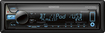 Kenwood - CD - Built-In Bluetooth - Car Stereo Receiver - Black