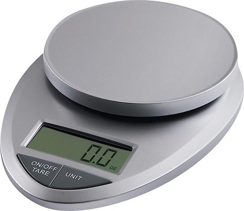 EatSmart - Precision Pro Digital Kitchen Scale - Silver