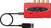 Behringer - U-CONTROL Ultralow-Latency 2-In/2-Out USB/Audio Interface - Red