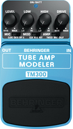 Behringer - Tube Amp Modeling Effects Pedal for Electric Guitars - Blue