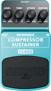 Behringer - Ultimate Dynamics Compressor/Sustainer Effects Pedal for Electric & Bass Guitars - Blue