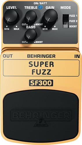 Behringer - Super Fuzz Pedal for Electric Guitars - Orange