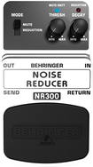 Behringer - Ultimate Noise Reduction Effects Pedal - Black