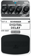 Behringer - Digital Delay Pedal for Electric Guitars