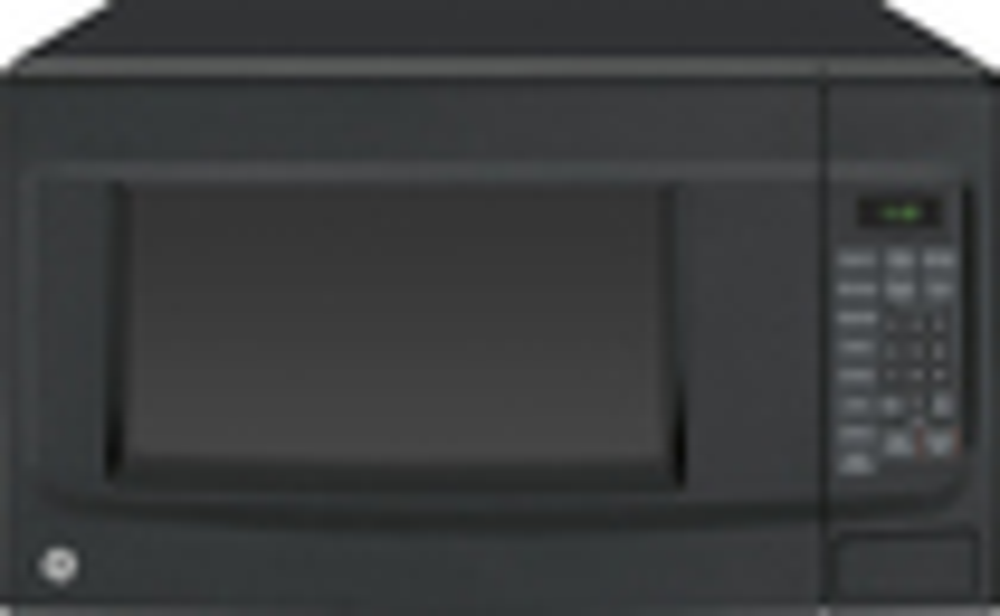 GE - 1.4 Cu. Ft. Mid-Size Microwave - Black