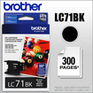 Brother - LC71BK Ink Cartridge - Black