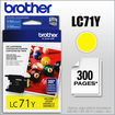 Brother - LC71Y Ink Cartridge - Yellow