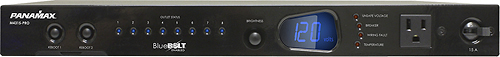 Panamax - 9-Outlet Surge Protector - Black
