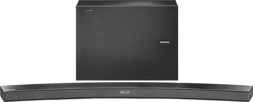 Samsung - 6000 Series 6.1-Channel Curved Soundbar with 7 Wireless Subwoofer - Black