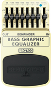 Behringer - 7-Band Graphic Equalizer Effects Pedal - Gold