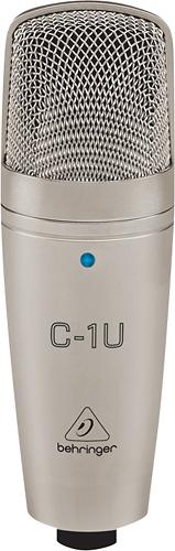 Behringer - USB Studio Condenser Microphone - Silver