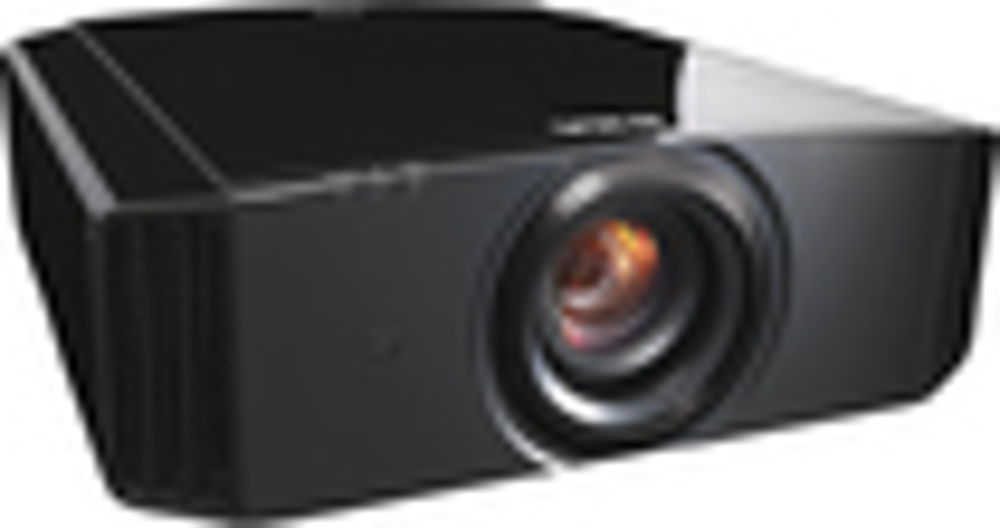 JVC - D-ILA 4K Projector - Black