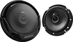 "Kenwood - Road Series 6-1/2"" 2-Way Car Speakers with Paper Woofer Cones (Pair) - Black"