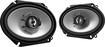 """Kenwood - Road Series 6"""" x 8"""" 2-Way Car Speakers with Paper Woofer Cones (Pair)"""