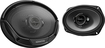 "Kenwood - Road Series 6"" x 9"" 3-Way Car Speakers with Polypropylene Cones (Pair) - Black"