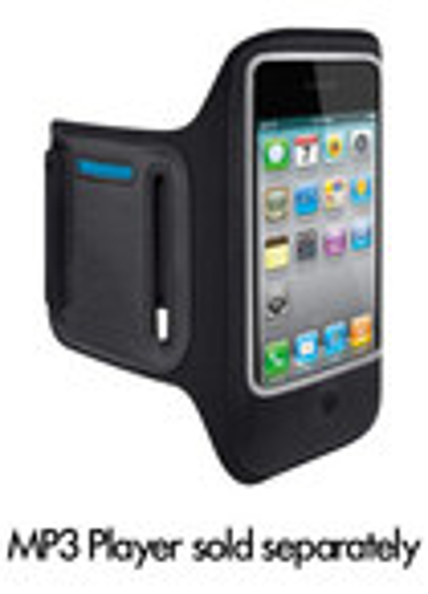 Belkin - Dualfit Armband For Apple Iphone 4 - Black