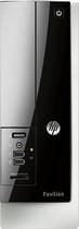 HP - Pavilion Slimline Desktop - AMD A4-Series - 6GB Memory - 1TB Hard Drive - Gray