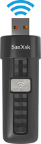 SanDisk - Connect 64GB USB 2.0 Wireless Flash Drive - Black