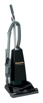 Panasonic - HEPA Upright Vacuum - Black