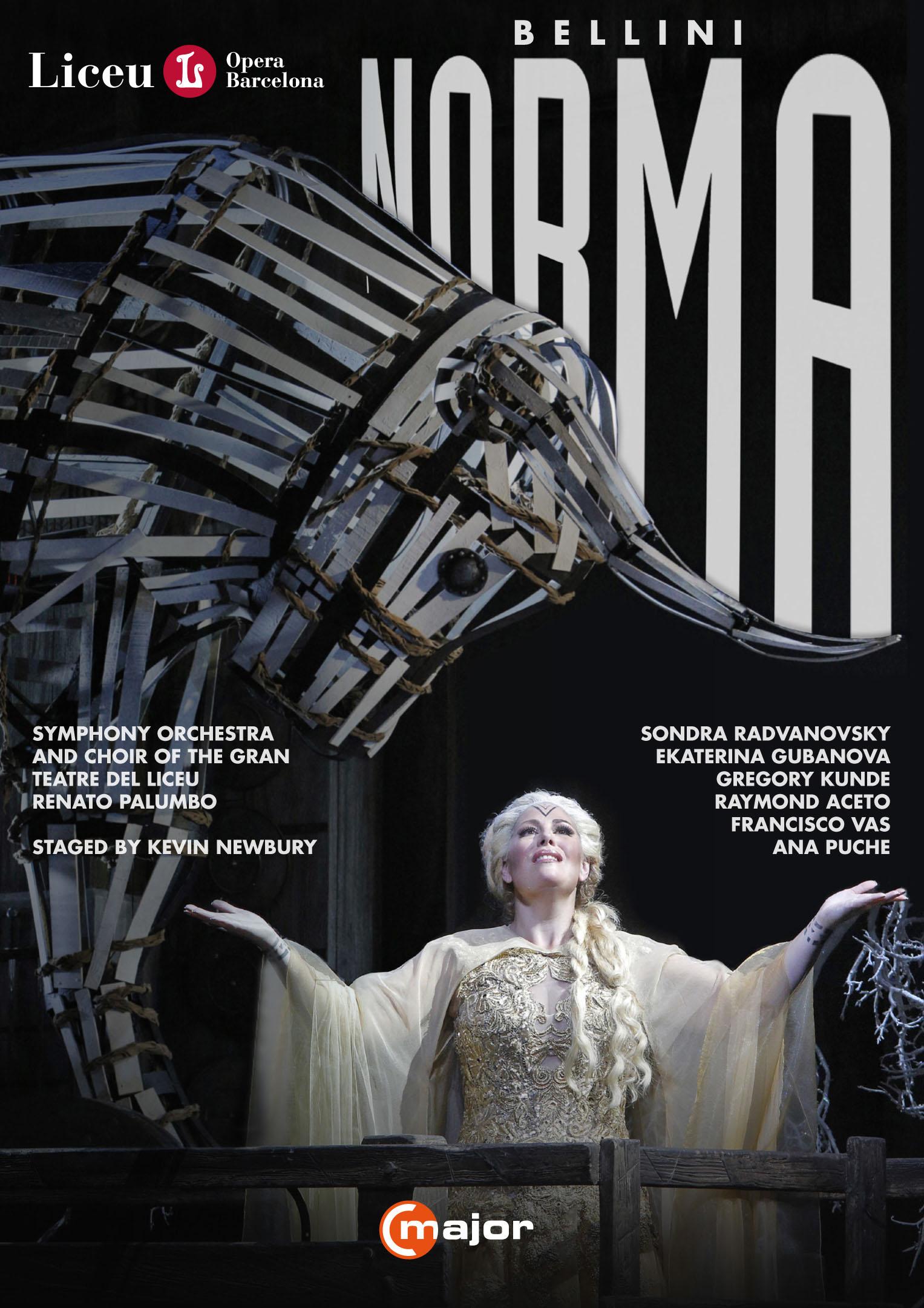 Norma (opera Barcelona) [2 Discs] (dvd) 32175687