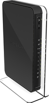 NETGEAR - N900 Dual Band Wireless-N Router with 5-Port Gigabit Ethernet Switch - Black