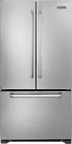 KitchenAid - Pro Line Series 21.8 Cu. Ft. Counter-Depth French Door Refrigerator - Stainless/Stainless look