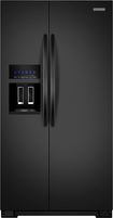 KitchenAid - Architect Series II 26.3 Cu. Ft. Side-by-Side Refrigerator - Black